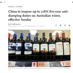 Challenging Times Ahead for Aussie Wines in China